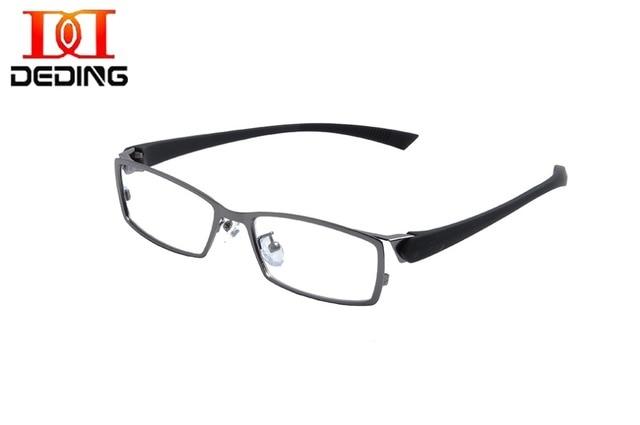 f6e5e695a60 Deding Man s Clear Lens Eyewear Elegant Men Business Fashion Metal full-rim  Rectangle Eye Glasses