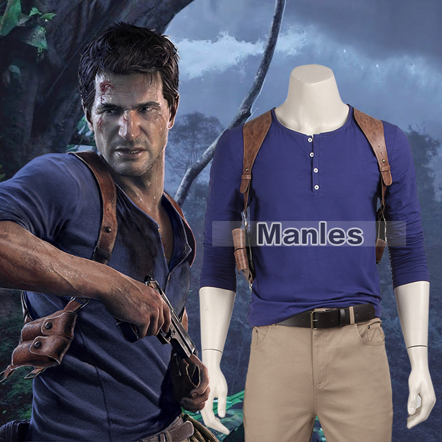 Aliexpress.com : Buy Uncharted 4 Nathan Drake Costume A Thief\'s ...