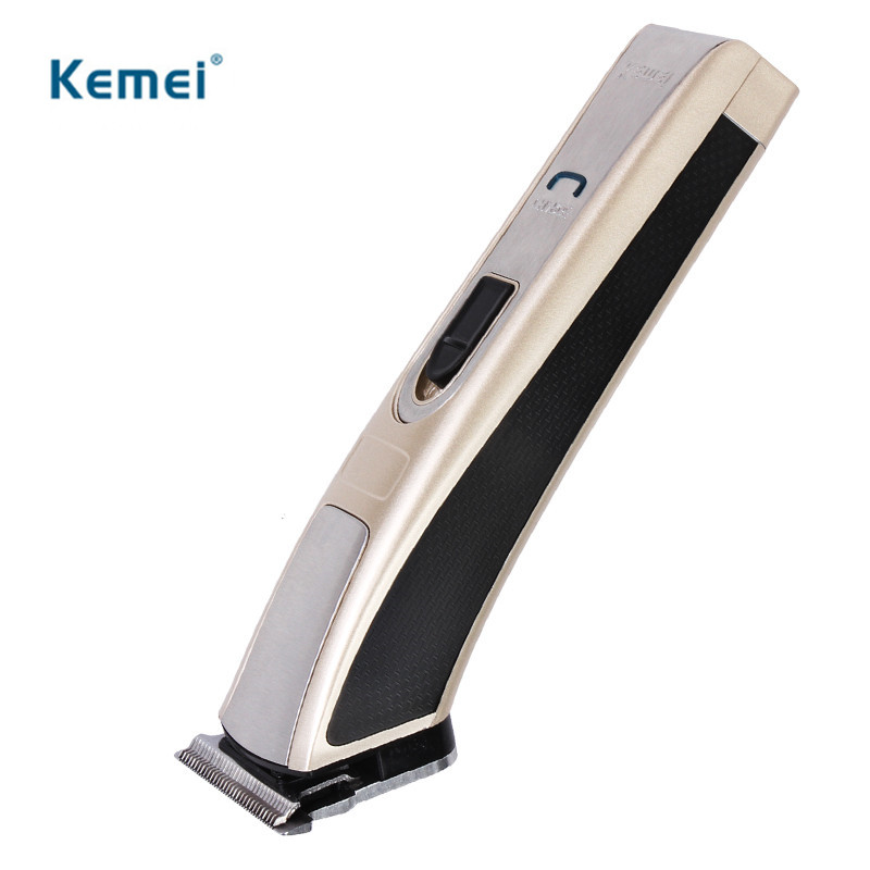 Kemei High Speed Electric Hair Clipper Trimmer Rechargeable Ergonomically Shaver Razor Cordless Adjustable Clipper 110-220v electric washable hair clipper rechargeable hair trimmer shaver razor cordless adjustable clipper washable cordless adjustable