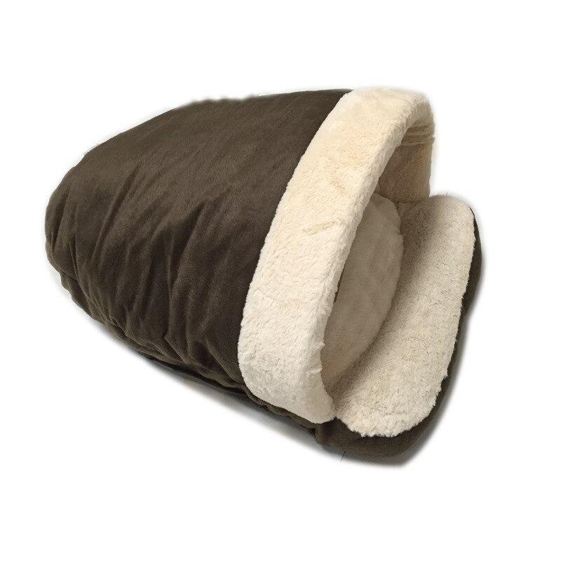 Lits pour animaux de compagnie pour chien chat coton lit pour chien en peluche Bichon pékinois neige Rena chat chien panier chien lits maison articles pour animaux de compagnie