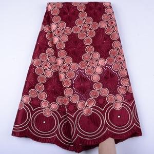 Image 4 - Oignon, dentelle suisse Voile, en suisse, tissu coton, africain, tissu en dentelle de coton sec nigérian, homme, 5Yards, Y1468