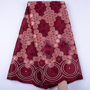 Image 4 - Onion High Quality Swiss Voile Laces In Switzerland Cotton African Dry Cotton Lace Fabric Nigerian Man Voile Lace 5Yards Y1468