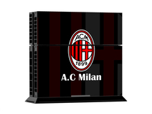 A C Milan Vinyl PS4 Skin Sticker for PlayStation 4 Console 2 PCS Free Controller Cover