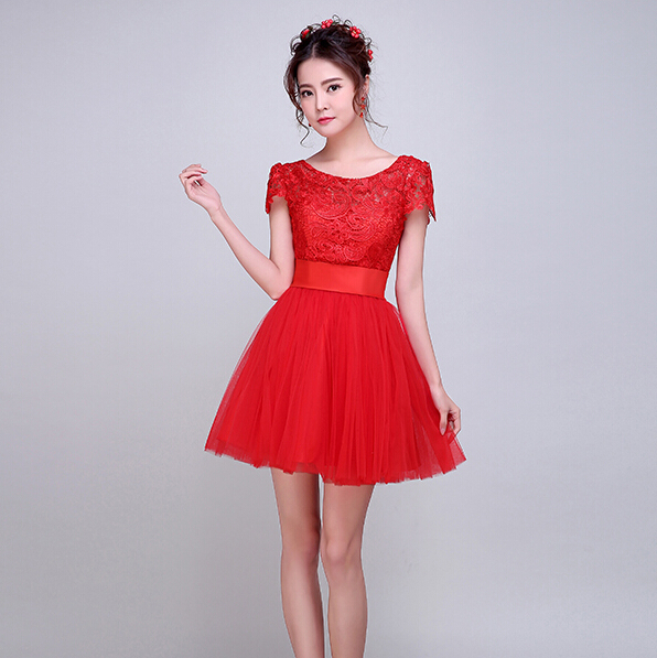 Online Get Cheap Teen Short Red Dress -Aliexpress.com | Alibaba Group