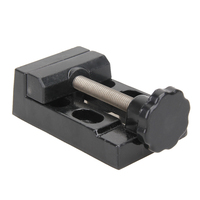 Mini Aluminum Alloy Table Vise Metal Clamp Locksmith Clip DIY Toys Parts