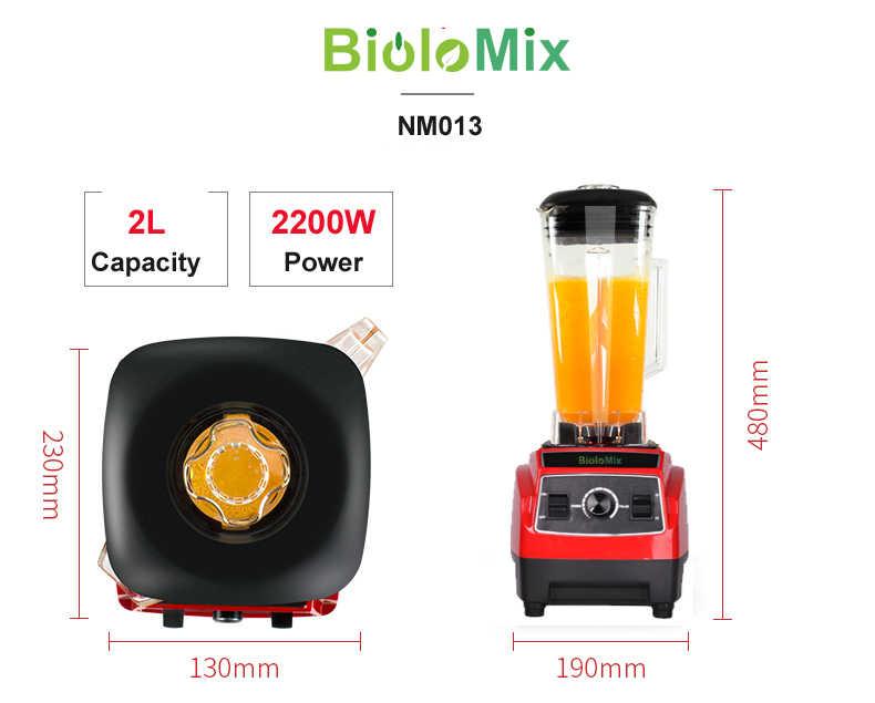 220 V/110 V 3HP 2L BPA LIVRE da classe comercial casa profissional smoothies poder batedeira liquidificador espremedor de alimentos processamento de frutas