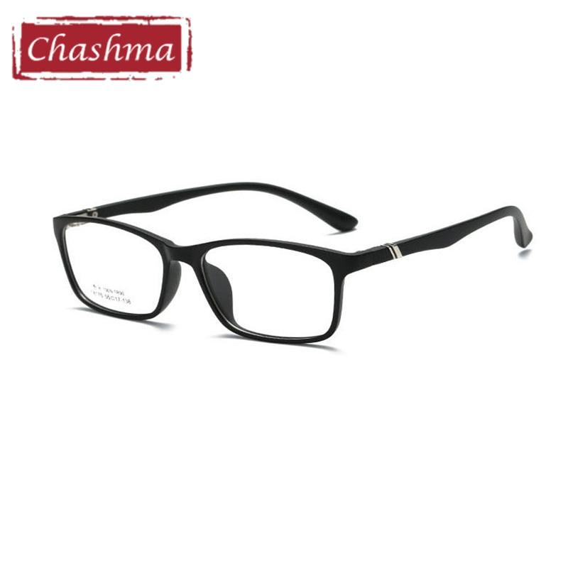 d59f6af3805 Chashma Brand TR 90 Flexible Light Eyeglasses Men Eyeglasses Simple Design  Optical Glasses Frame Female Student Eye Glass