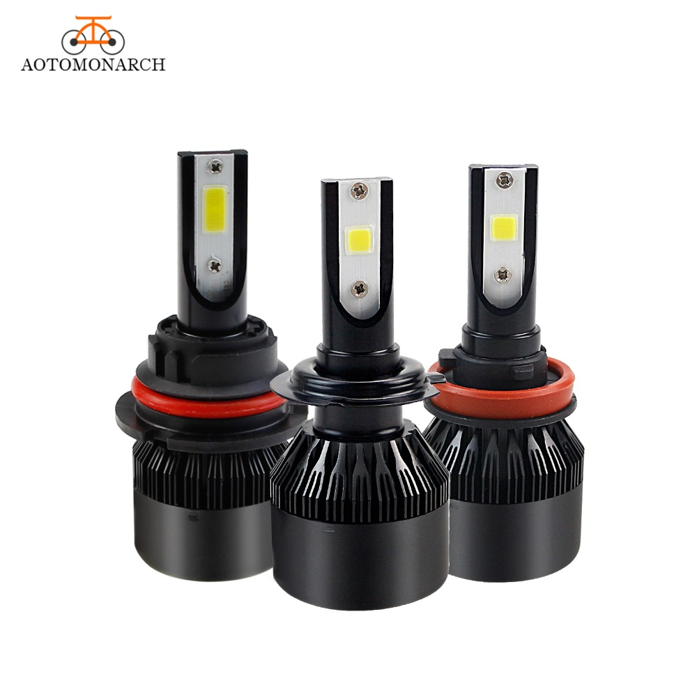 AOTOMONARCH Car Lights H7 H4 LED H1 H3 H8 H9 H11 9005 9006 9007 9008 880 881 H27 Automobiles Accessoires Fog Light LEDs Bulb EJ