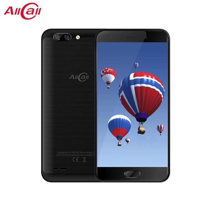 ALLCALL Atom 5.2 Inch TFT IPS  MT6737 Quad-core 2GB RAM 16GB ROM 8MP+2MP Daul Rear Cameras 1280×720  4G smartPhone