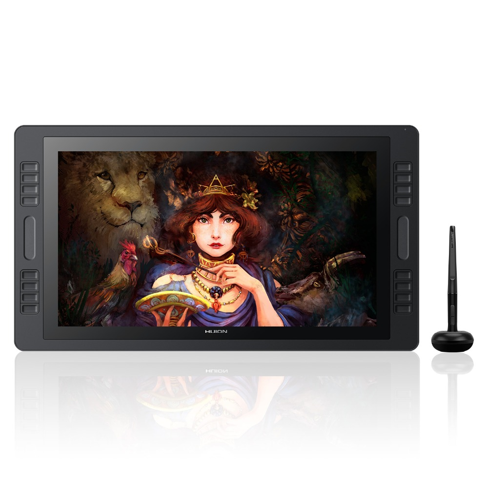 KAMVAS Pro 20 2018 stylo tablette moniteur numérique dessin moniteur sans batterie stylo avec fonction d'inclinaison écran moniteur-HUION GT-192