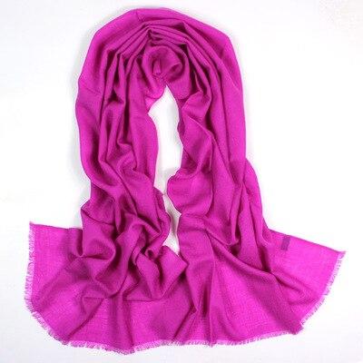 G015 Monochrome wool scarf lady