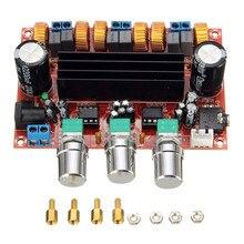 Новое поступление TPA3116D2 50Wx2+ 100W 2,1 канальный цифровой сабвуфер усилитель доска 12 V-24 V Мощность