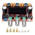 Новое Поступление TPA3116D2 50Wx2 + 100 Вт 2.1 Канальный Цифровой Усилитель Сабвуфер Доска 12 В-24 В Питания