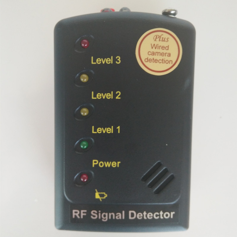 RF Signal Detector  superior sensitivity Anti Eavesdropping Device Full-range Wireless GPS Signal GPS BUG Signal Multi-Detector 1 pcs full range multi function detectable rf lens detector wireless camera gps spy bug rf signal gsm device finder