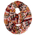 [Ode To Joy] Fashion women scarf large size printed scarves geometry chiffon scarf shawls and hijabs good quality