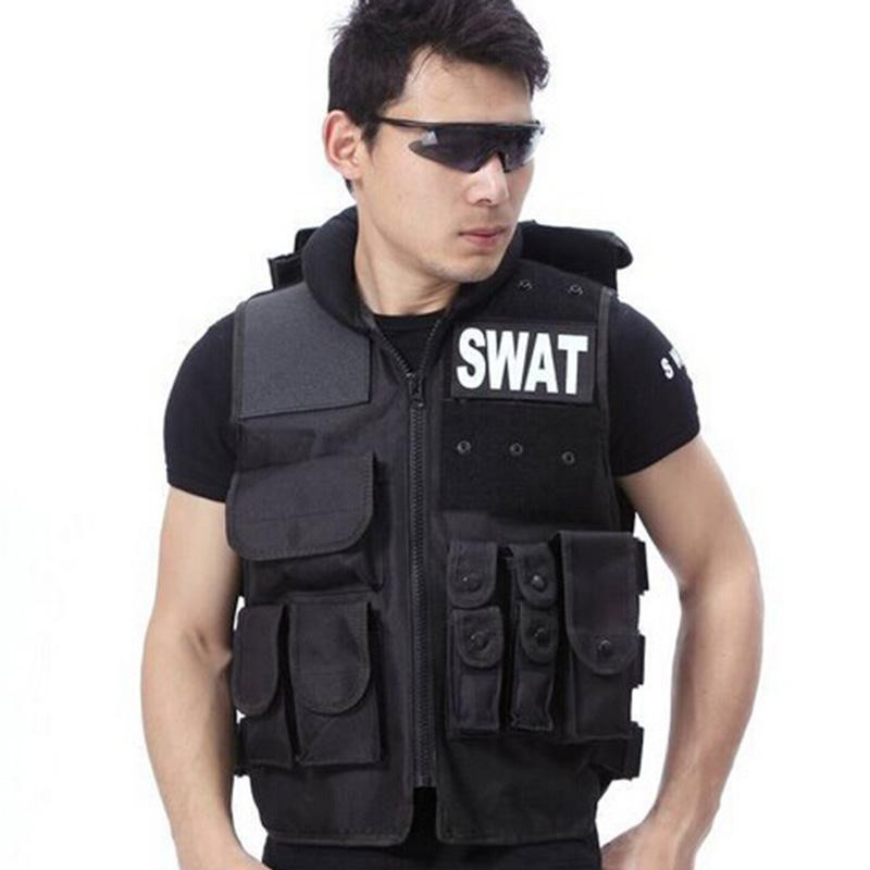 Airsoft Tactical Vest Swat Type Modular Tactical Combat Vest Military Tactical Gear CS Field Equipment Swat Protective Equipment helmet hornbills law enforcement tactical swat vest army fans outdoor vest game vest cs field vest