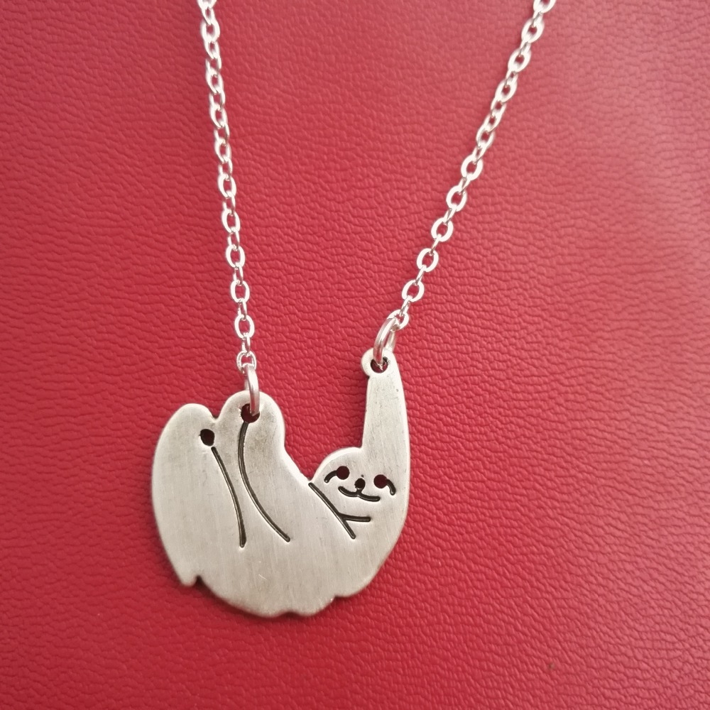 art aristocrat charm deviantart on pendant cute sloth by necklace mad
