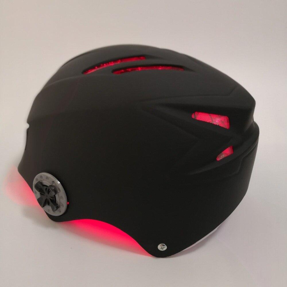 Купить с кэшбэком LLLT Therapy for hair loss treatment 650nm 68 diode laser helmet hair regrowth