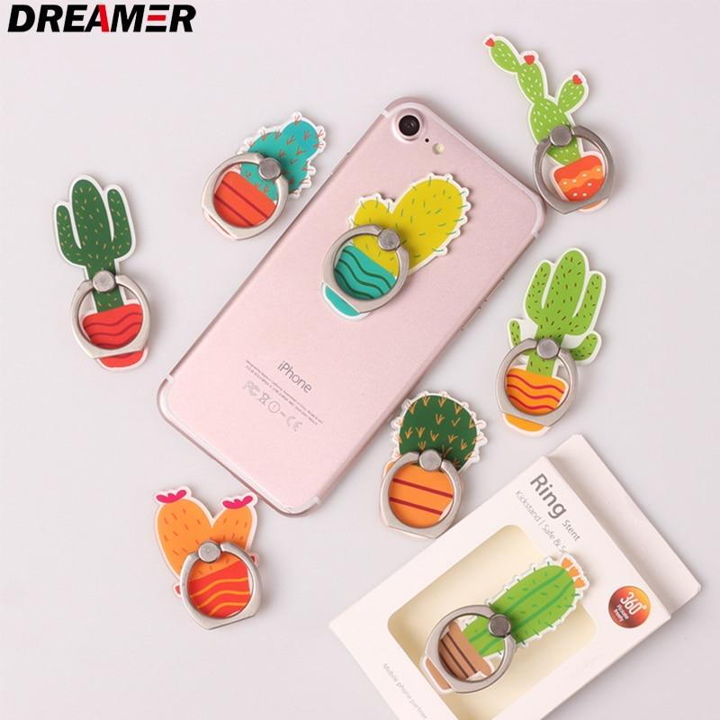 Wholesale Cartoon Universal Socket Mobile Phone Finger Rings Holder For All Phone Expanding Phone Stand Finger Car Phone Holder