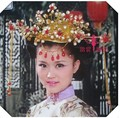 Chinese Style Wedding Costume Hair Tiaras Traditional Bride Wedding Hair Jewelry