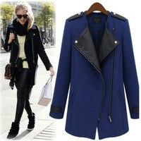 Women Elgant Trench Coat Autumn 2015 New Winter Spring Fashion Brand Plus Size XL 3XL Windbreaker