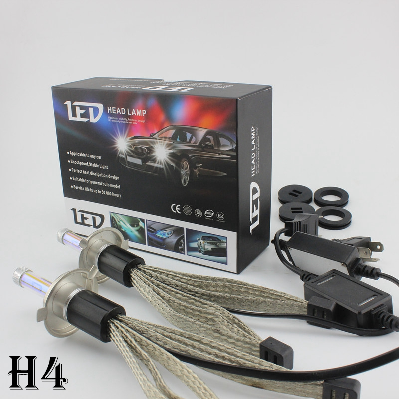 OCSION R4 H4 LED Car Headlight Bulb 30w 3600lm hi low beam H1 H3 H7 H8 H9 H11 9005 HB3 H10 9006 HB4 3000K 4300K 6000K 8000K