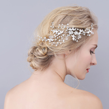 Leaf Crystal Bridal Wedding Jewelry Hair Accessories Hair Combs Crown Tiara Hot Selling For Women O909