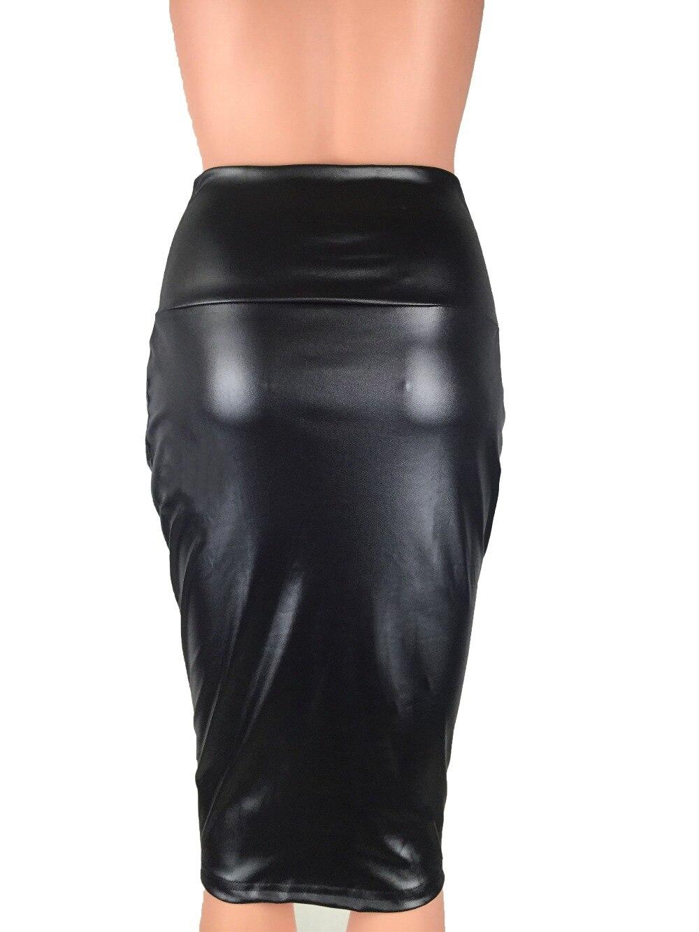 Bohocotol 2018 μολύβι faux δερμάτινη φούστα - Γυναικείος ρουχισμός - Φωτογραφία 5