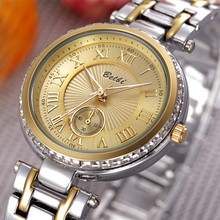Calidad Ventas de Fabricantes Directos 2016 BELBI Marca Moda Mujeres Simples Relojes de Cuarzo-reloj Personalidad Reloj de Acero Inoxidable