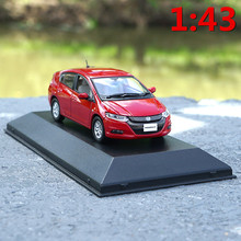 1:43 scale alloy car model toys,high imitation Jcollection Honda Insight 2010,collection toy vehicles,free shipping