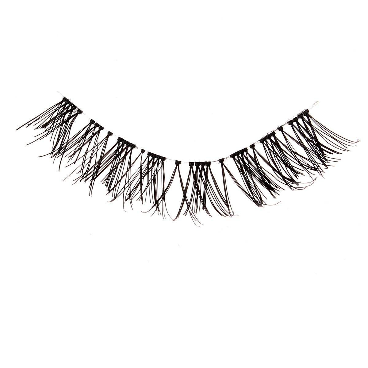 Generic 5 Pairs Natural Black Criss Cross False Eyelashes