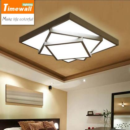 2016 Ceiling Lights Decoration Ceiling Lamps Geometric Of Adjusting Light Color Warm And Romantic Bedroom Living Room Lighting