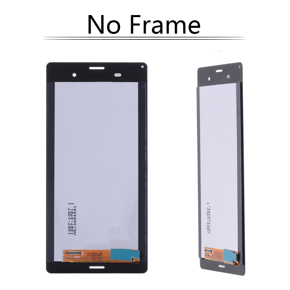 5.2 No dead pixels LCD Display For SONY Xperia Z3 D6603 D6633 D6653 L55T Touch Screen with Frame Digitizer Display #