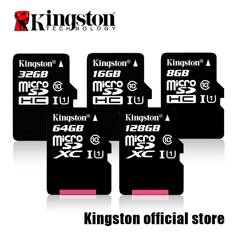 Kingston flash card Class 10 Micro SD Card 16GB 32GB 64GB 128GB Memory Card C10  SDHC SDXC TF Card for Smartphone hot sale a bouquet of decoration holding flower simulation rose