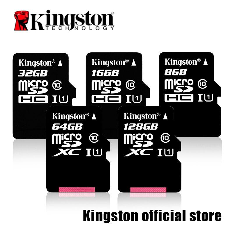 Kingston Class 10 Micro SD Card 16GB 32GB 64GB 128GB Memory Card C10 SDHC SDXC TF Card for Smar