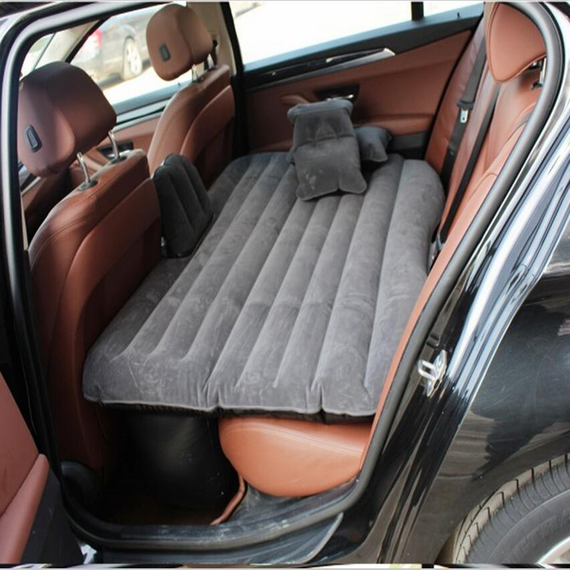 hot sale car Back Seat Cover car Air <font><b>Mattress</b></font> Outdoor Travel bed Inflatable <font><b>Mattress</b></font> Air Bed High Quality Inflatable Car Bed
