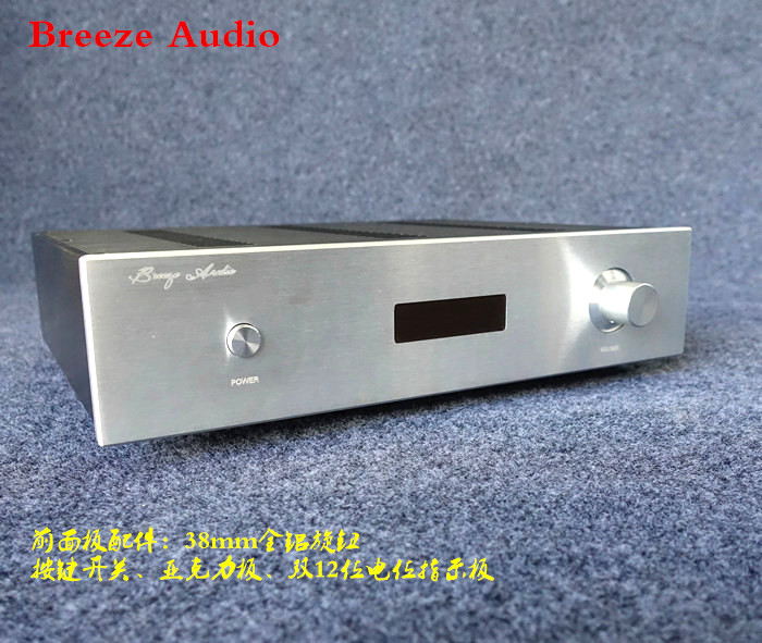 Preamp Amplifier Chassis / Aluminum Case preamp Amp Shell /DIY amp enclosure wa60 full aluminum amplifier enclosure mini amp case preamp box dac chassis