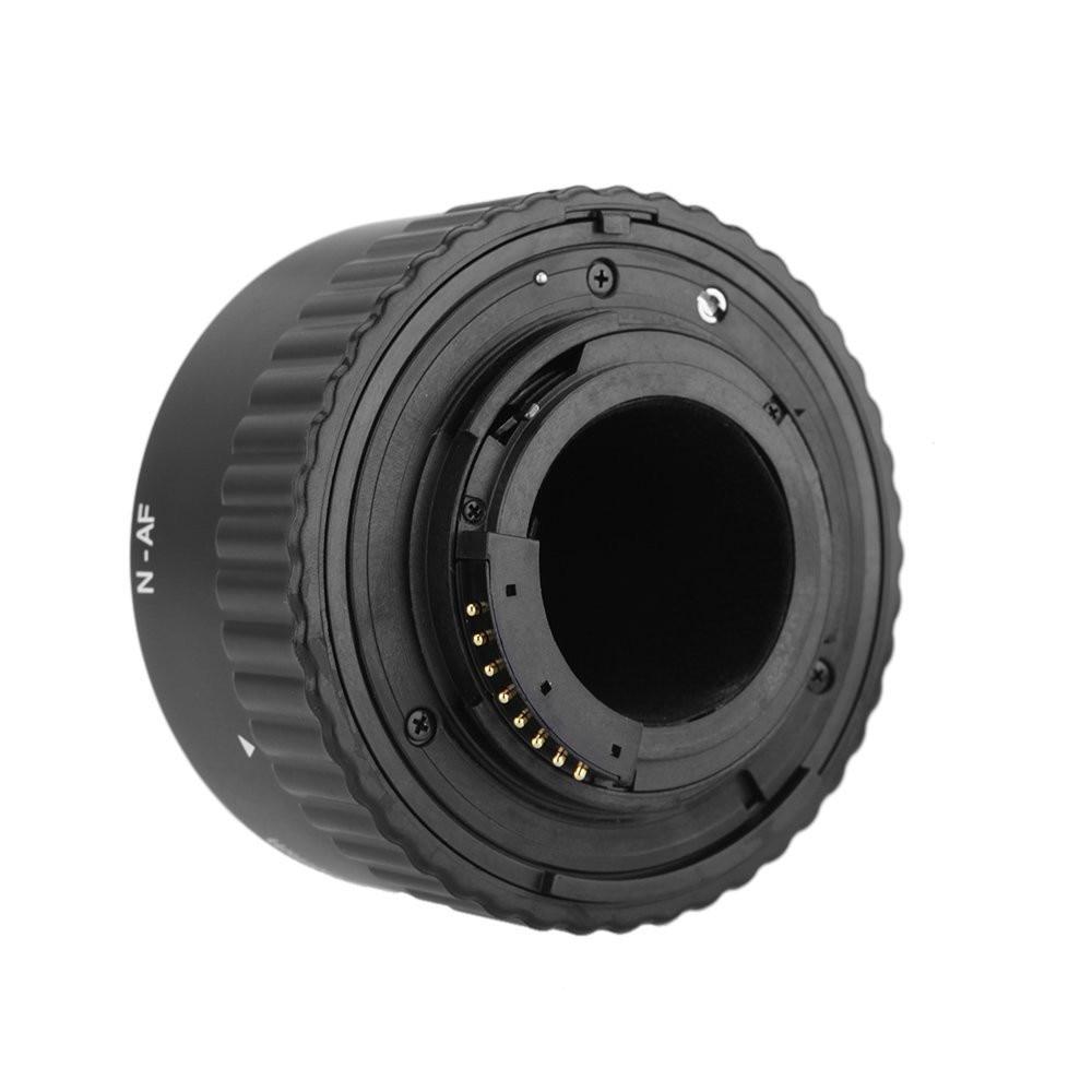 Meike N-AF1-B Autofocus D'extension Macro Anneau de Tube pour Nikon D7200 D7100 D7000 D5100 D5300 D5200 D3100 D800 D600 D300 D90 D80 - 5
