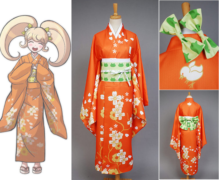 Super Danganronpa 2 Hiyoko Saionji Cosplay Costume For Adult