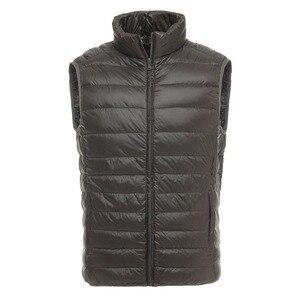 Image 2 - Brand 90% Duck Down Vest Ultra Light Duck Down Waistcoat  Sleeveless Jacket autumn Winter Coat J0029