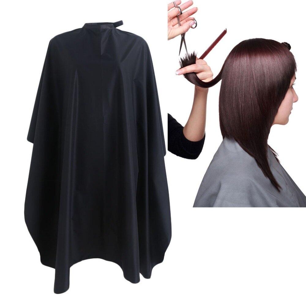 1 PC Hairdresser Apron Cartoon Pattern Cutting Hair Waterproof Cloth Salon Barber Cape Hairdressing Black Color3TA00008 цена 2017