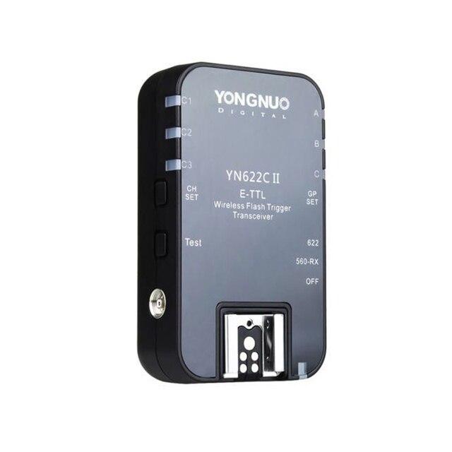 Yongnuo YN 622C II Không Dây E TTL HSS Flash Đơn Kích Hoạt Reciever Cho Canon 1100D 1000D 650D 600D 550D 7D 5DII 50D