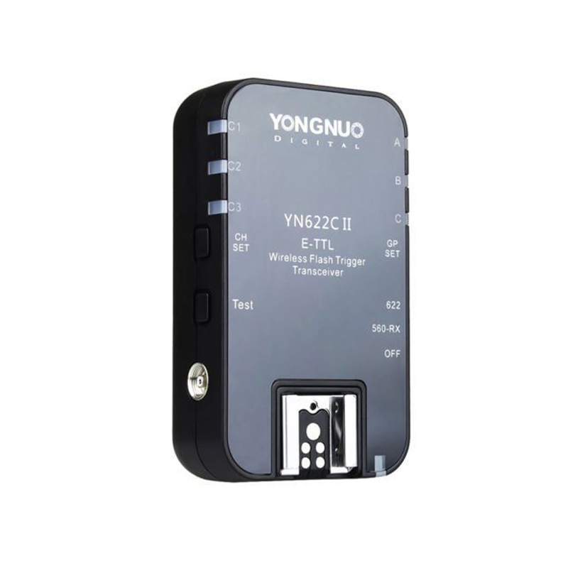 Yongnuo YN-622C II Wireless E-TTL HSS Flash single Trigger Reciever for Canon 1100D 1000D 650D 600D 550D 7D 5DII 50D цена и фото