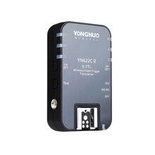 Yongnuo YN 622C II bezprzewodowy E TTL flash hss single Trigger odbiornik dla Canon 1100D 1000D 650D 600D 550D 7D 5DII 50D