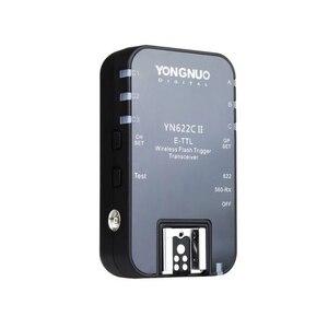 Image 1 - Yongnuo YN 622C II kablosuz E TTL HSS flaş tek tetik alıcı Canon 1100D 1000D 650D 600D 550D 7D 5DII 50D