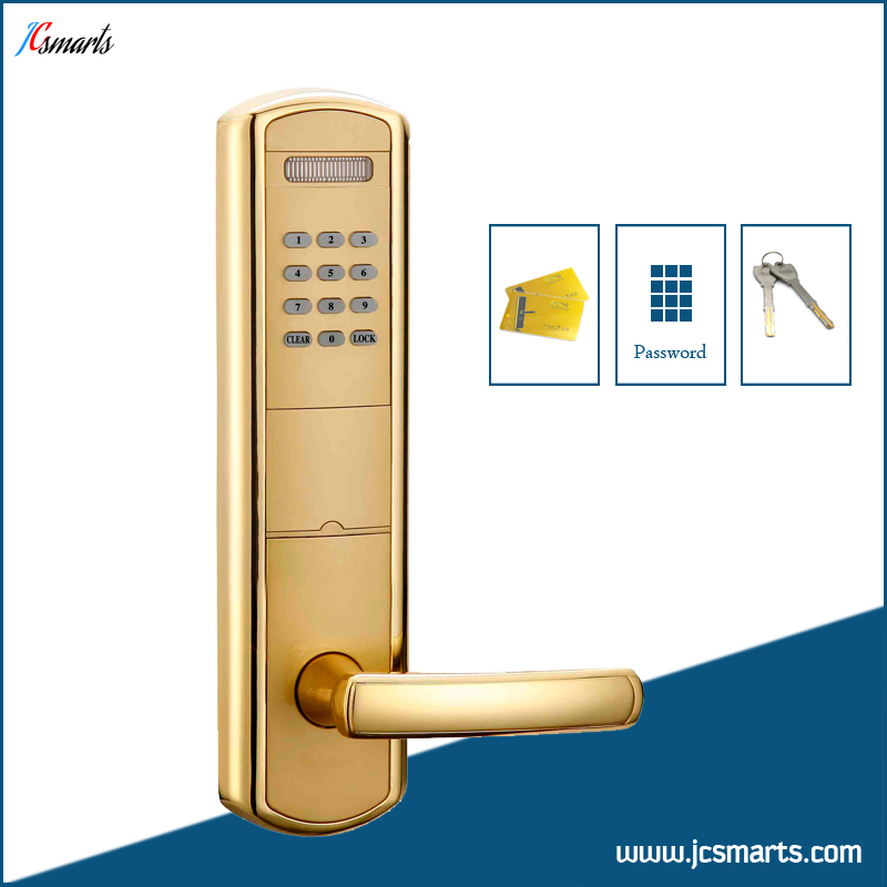 Numeric keypad door lock electric keyless entry lock with ID card reader usb pos numeric keypad card reader white