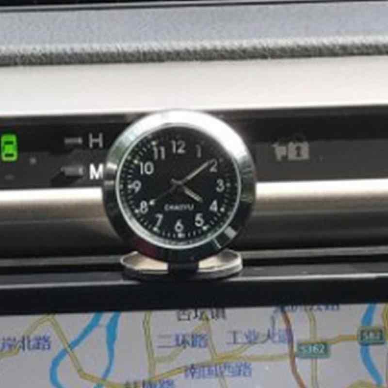 Температура автомобиля украшения талисманы интерьер часы Термогигрометр цифровой Аксессуары Приборной Панели