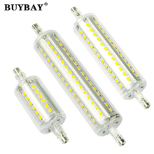 78mm 118mm 135mm R7S LED Lamp 5W 10W 12W SMD 2835 spotlight R7S Light Bulb 90-260V Replace Halogen Light spot light Dimmable