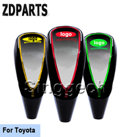 ZDPARTS Car Gear Shift Knob Touch Sensor Colourful LED Light 5/6 Speed For Toyota Corolla Avensis RAV4 Yaris Auris Hilux Prius