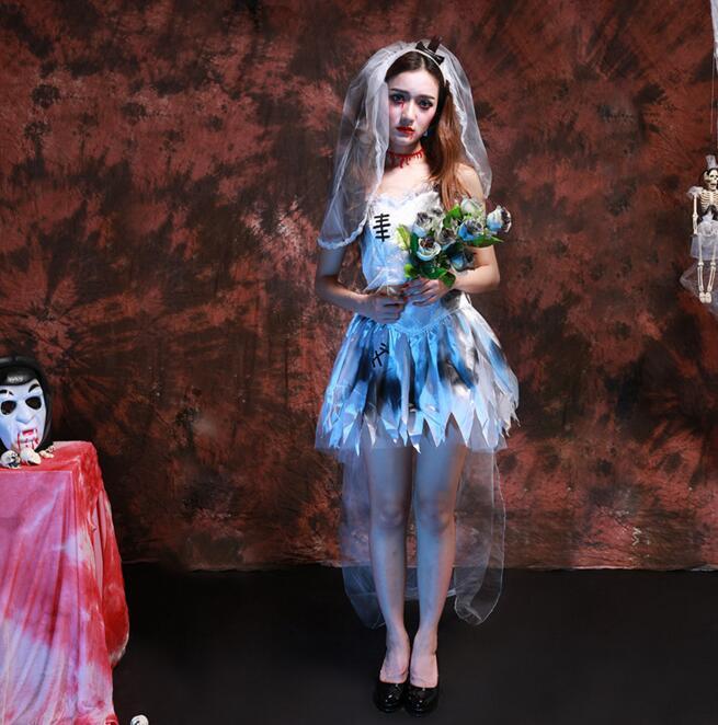 Сексуальная Хэллоуин Карнавал Cos костюм для женщин Марли подол scarey Косплэй Fantasia  ...